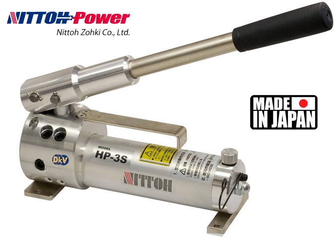 bom thuy luc Nittoh Power HP-3S, Nittoh power hydraulic hand pump HP-3S