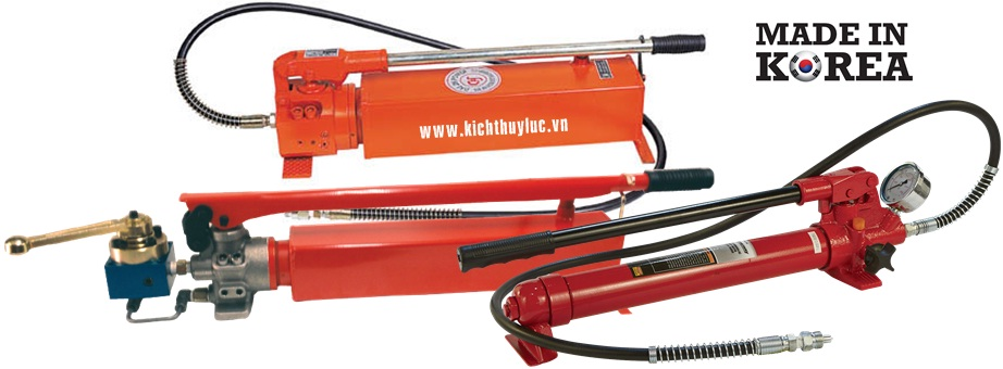 bom tay thuy luc Tonners, Tonners hydraulic hand pump